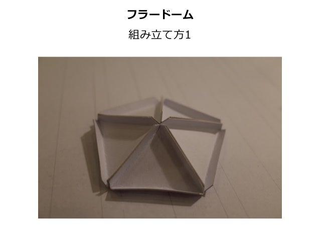 フラードーム 組み⽴立立て⽅方1