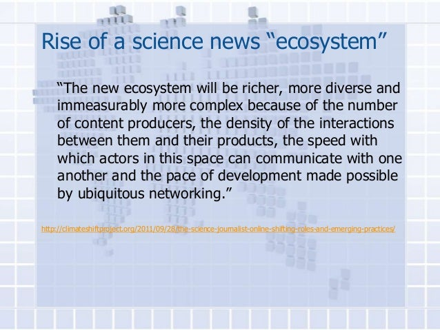 Science News in the Digital Age - #SciCommLSU Lecture 7