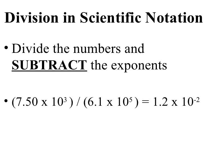 how to add and subtract scientific notation