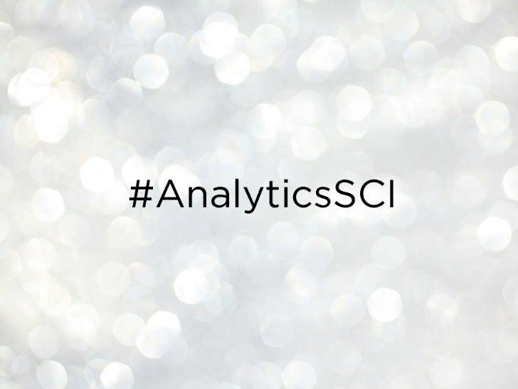 The Science of Analytics Slide 2