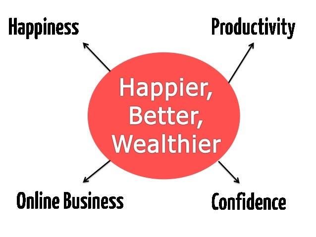 Science of happiness seminar and online marketing seminar Slide 3