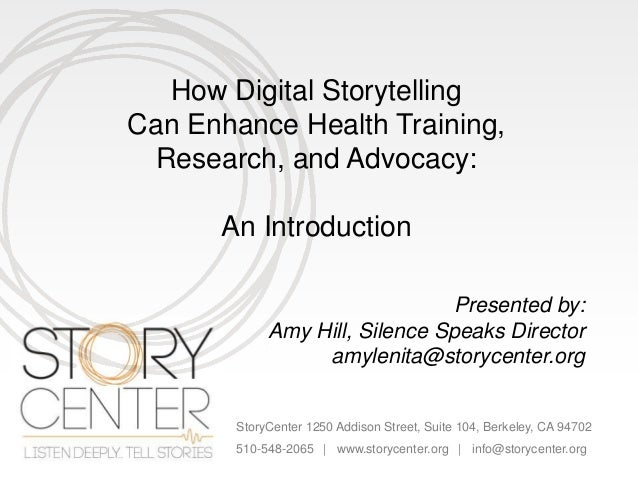 digital storytelling research paper Accordingly, our aim was to provide a systematic review of digital storytelling in  research the review identified 25 articles representing 23.