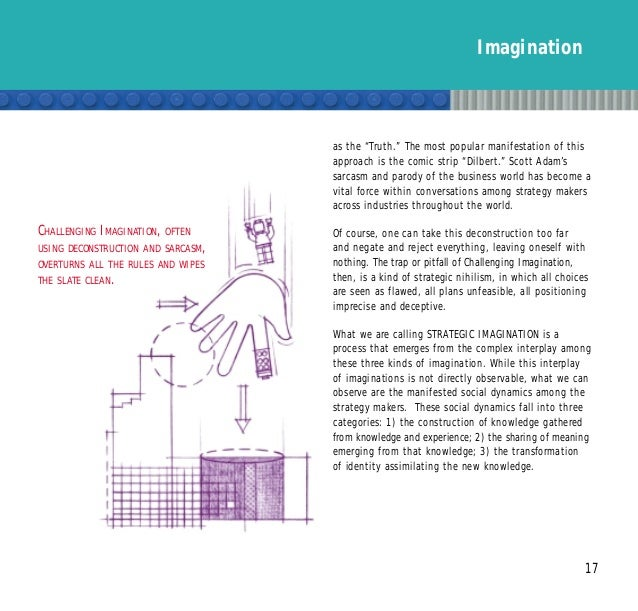 """Imagination 17 as the """"Truth."""" The most popular manifestation of this approach is the comic strip """"Dilbert."""" Scott Adam's ..."""