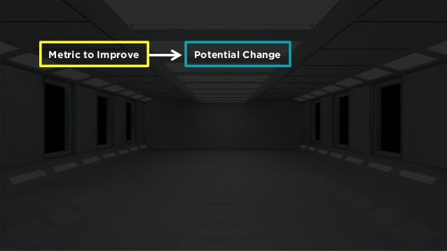 Metric to Improve  Potential Change  Discard  Implement  Potential Change  Potential Change  Discard  Implement  Discard  ...