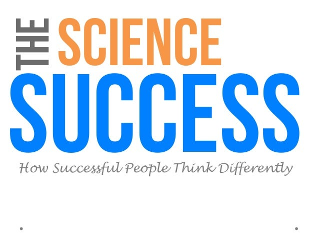 Science of success - How Successful People Think Differently (Psychology of Success) Slide 2