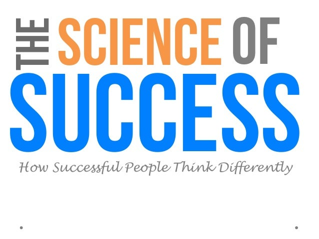 Science of success - How Successful People Think Differently (Psychology of Success) Slide 3