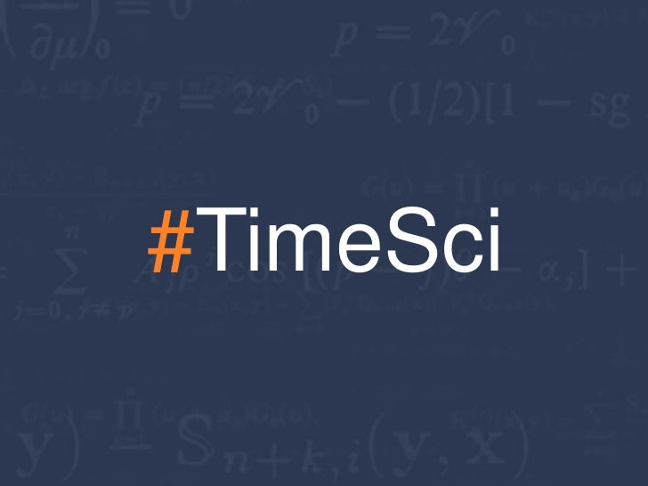 The Science of Timing Slide 2