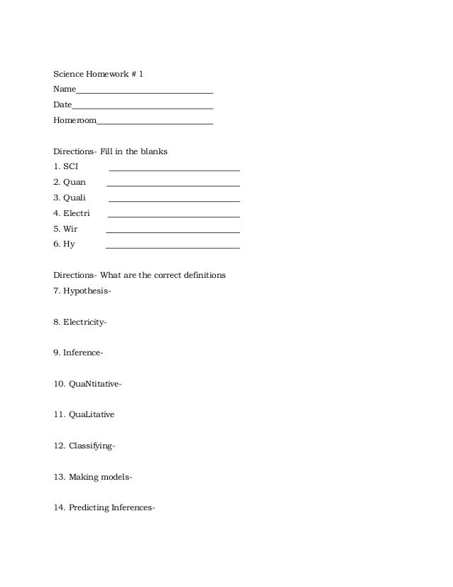 Science packet grade 4 science ijear willis room 112 with