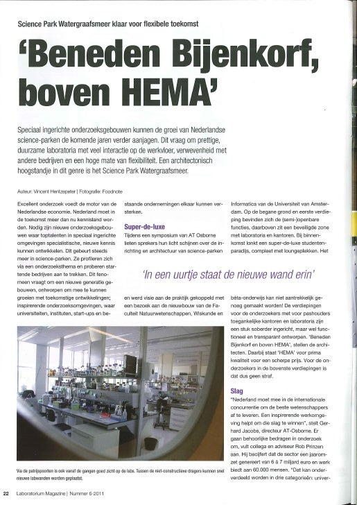 Science Parken Labmagazine