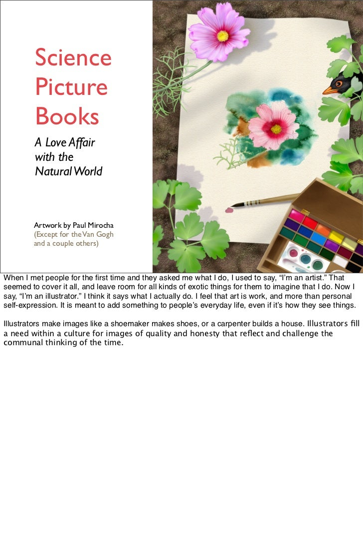 Science         Picture         Books         A Love Affair         with the         Natural World         Artwork by Paul...