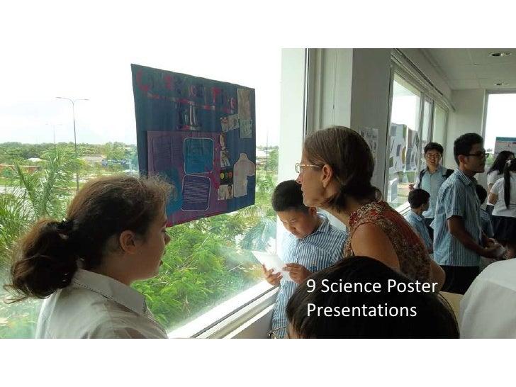 9 Science PosterPresentations