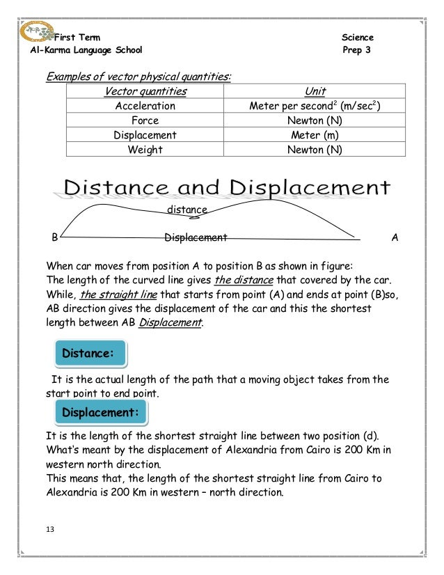 Distance And Displacement Worksheet With Answers – Distance Displacement Worksheet