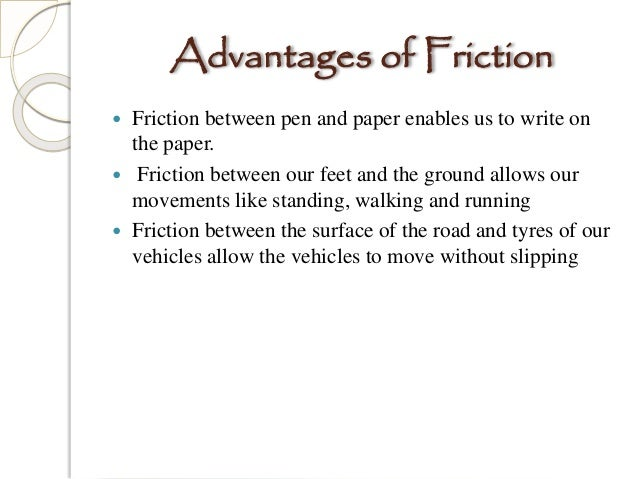 friction is a necessary evil Cbse class 8 - science - ch 12 - friction friction rolling friction: ncert chapter solutions, mcqs feet do not make necessary grip with the floor surface, thus increasing the chances of falling q10: what are the causes of friction is a necessary evil acting both as friend.