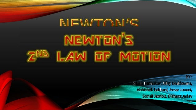 Science ppt on Newton's 2nd Law Slide 3