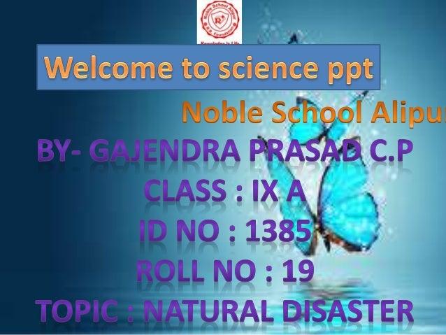 science ppt gajendra prasad c p ed hc