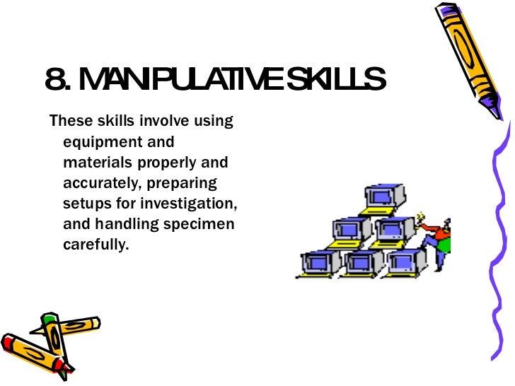 integrated science process skills pdf