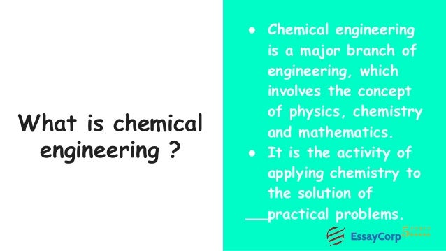 chemical engineering assignment help 4 what is chemical engineering