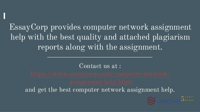 computer network assignment help 15 essaycorp provides computer network assignment help