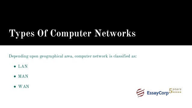 computer network assignment help 6 types of computer