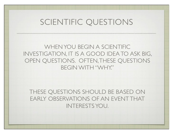 Science Questions