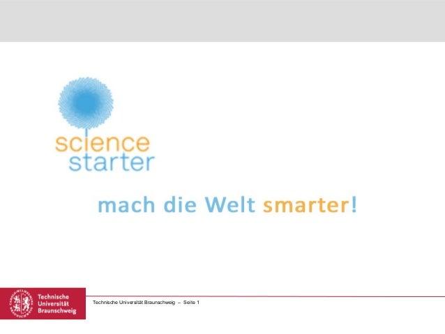 Technische Universität Braunschweig – Seite 1
