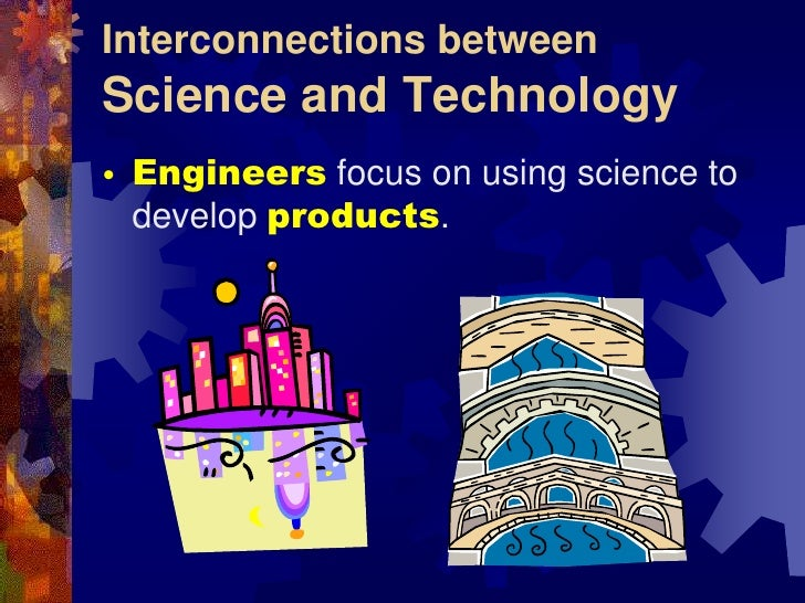 relationship between science and technology