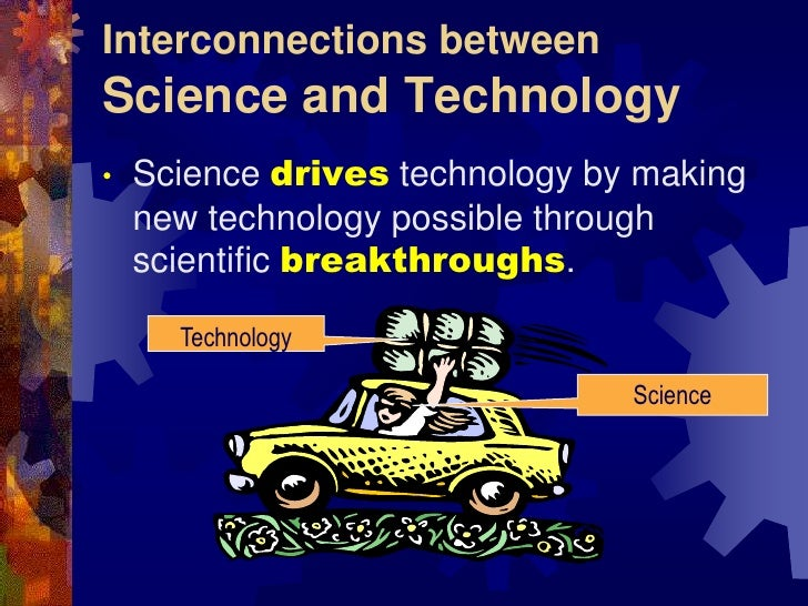 what is the relationship between science and technology