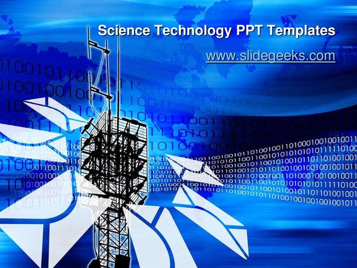 tech ppt templates