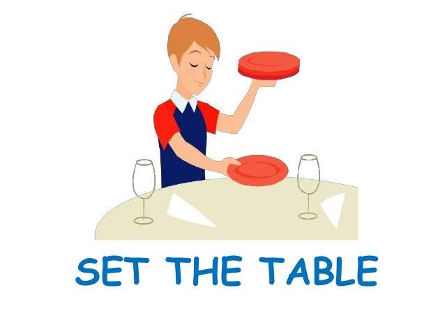 Set The Table Clipart. How Set The Table Clipart - Deltasport.co