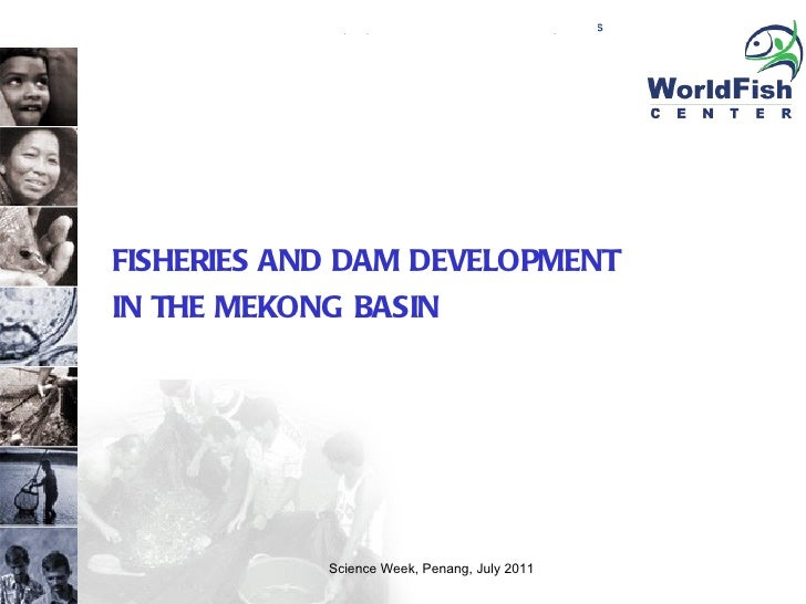 FISHERIES AND DAM DEVELOPMENT  IN THE MEKONG BASIN Science Week, Penang, July 2011