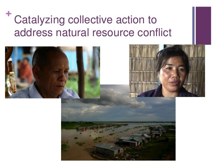 Catalyzing collective action to address natural resource conflict<br />