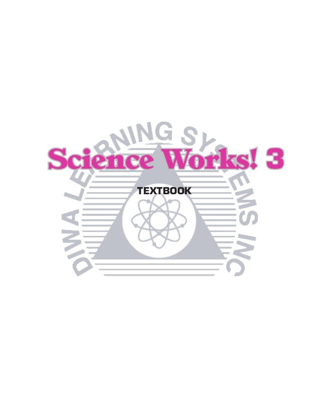 Science Works! 3 TEXTBOOK