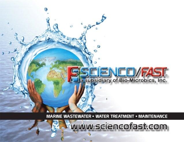 MARINE WASTEWATER • WATER TREATMENT • MAINTENANCE