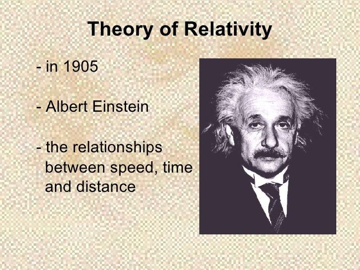 the inventions and theories of albert einstein Albert einstein determined that massive objects cause a einstein's theory of general relativity predicted that the space-time around earth would be not only.