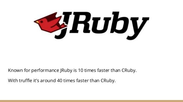 NMatrix for JRuby ● Not a unified interface for Sciruby gems: MDArray. ● MDArray is a great gem for Linear Algebra. ● Howe...