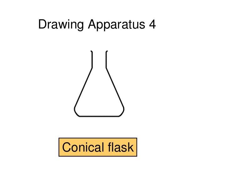 scientific drawings rh slideshare net diagram of conical flask and uses diagram of conical flask and uses