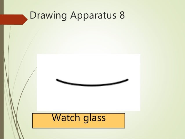 Drawing Apparatus 8 Watch Glass
