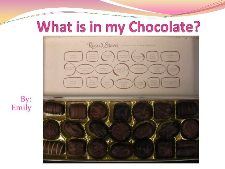 What is in my Chocolate?<br />By: Emily<br />