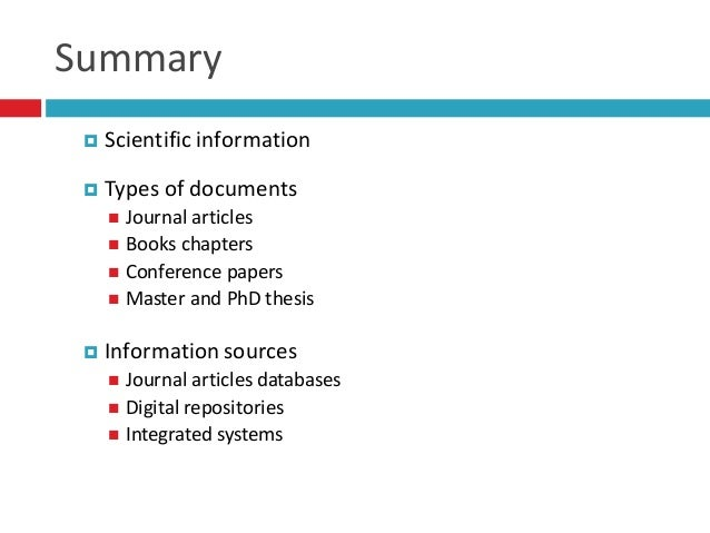 Phd thesis library information science