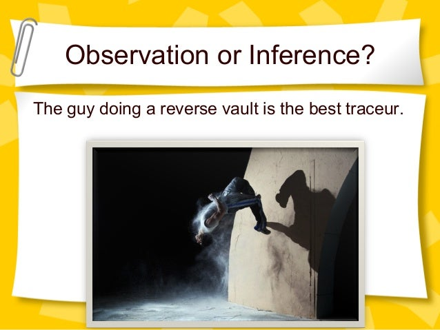 Scientific Inquiry Observation Vs Inference