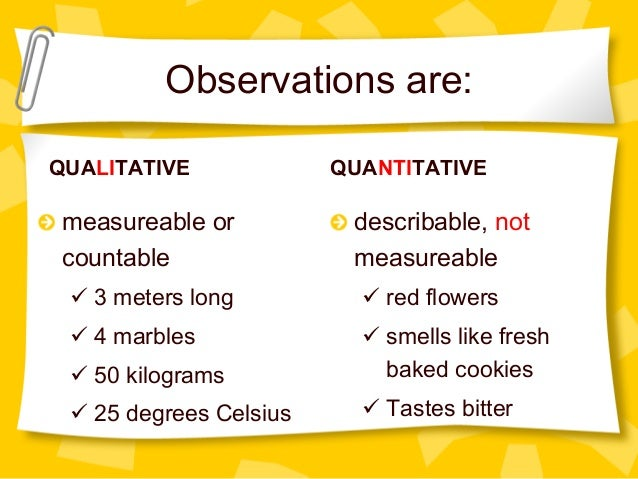 Scientific inquiry, observation vs. inference
