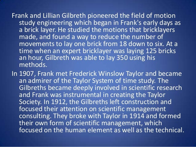 Time and motion study - Wikiquote