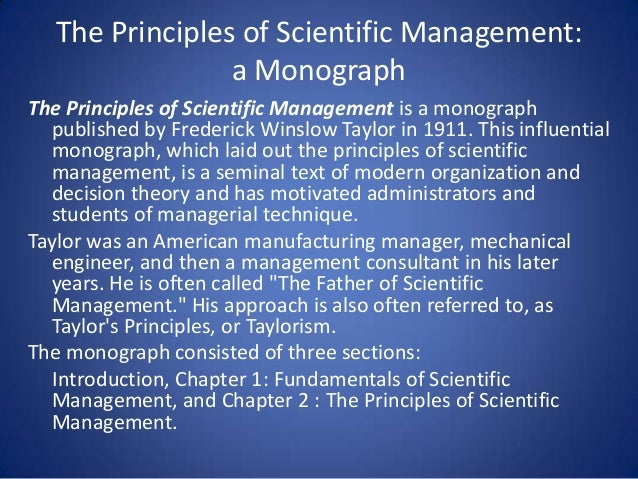 Management and Operations Management Theory