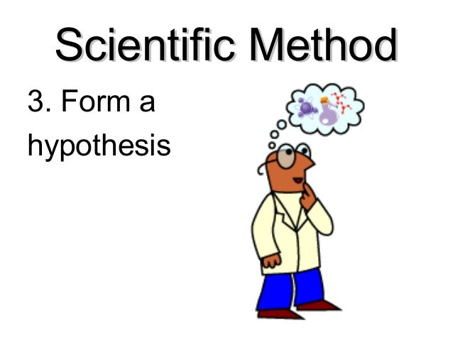 forming a hypothesis 2014-12-15  name date class 1 of 2 science process skills forming a hypothesis if you want to use the scientific method.