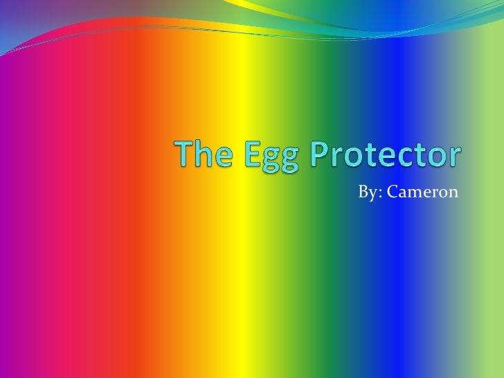 The Egg Protector<br />By: Cameron<br />
