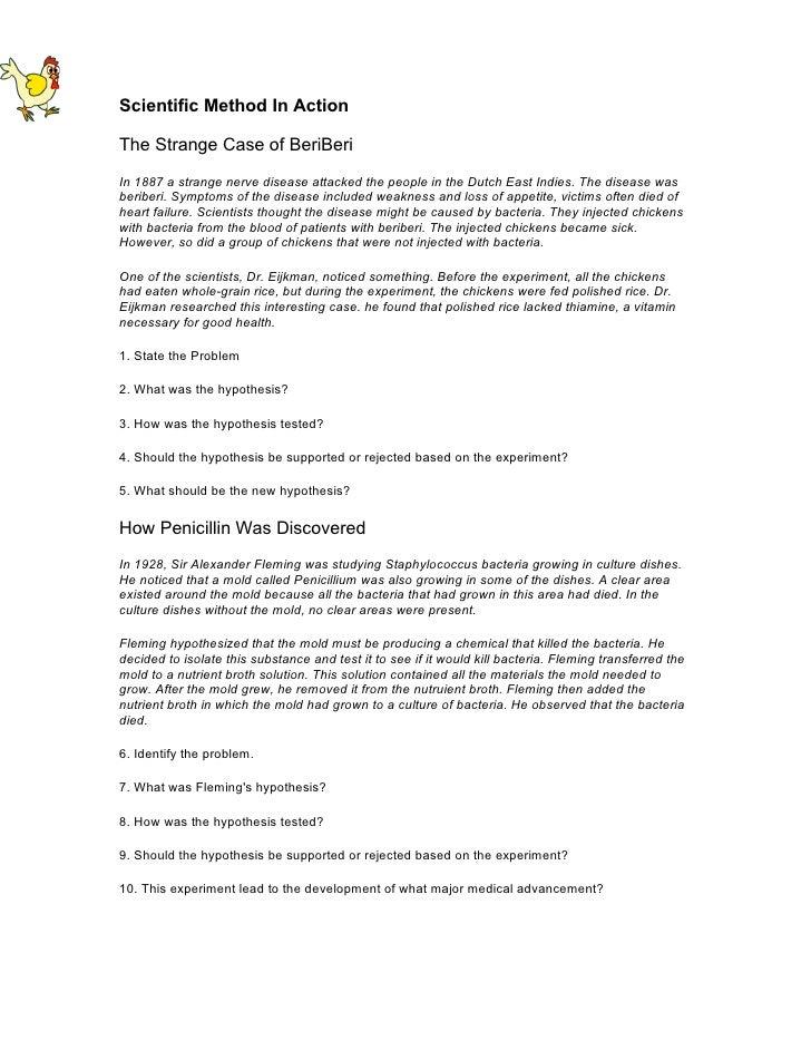 method in action activity – Spongebob Scientific Method Worksheet