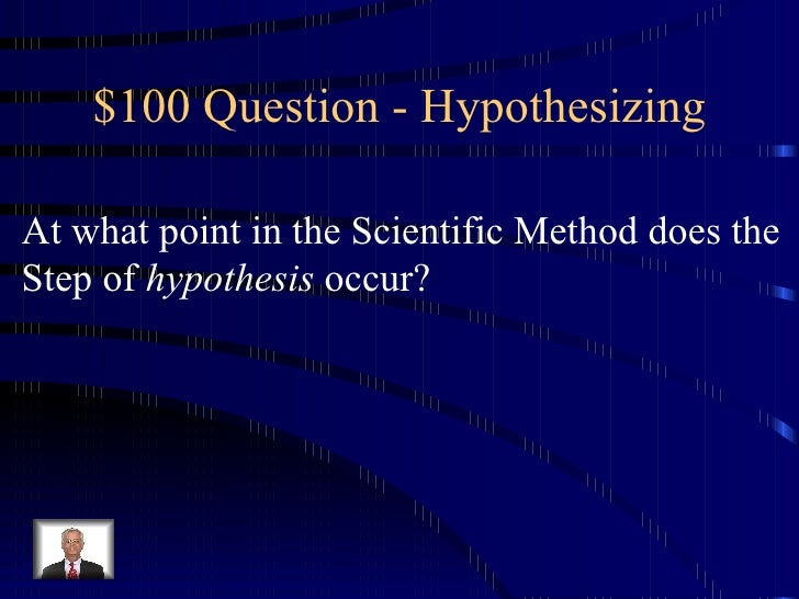 what is the first step of the scientific method answers