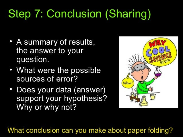 7th Grade Scientific Method Notes