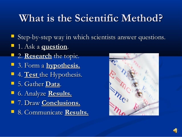Scientific method powerpoint.php