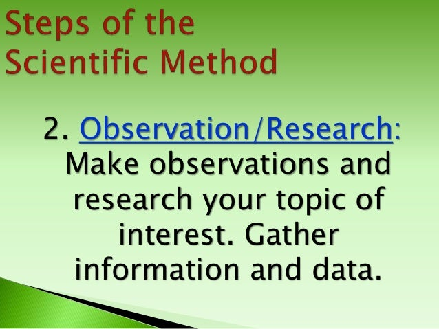 problems with the scientific method Understanding and using the scientific method the scientific method is a process used to design and perform experiments it helps to minimize experimental errors and bias, and increase confidence in the accuracy of your results.